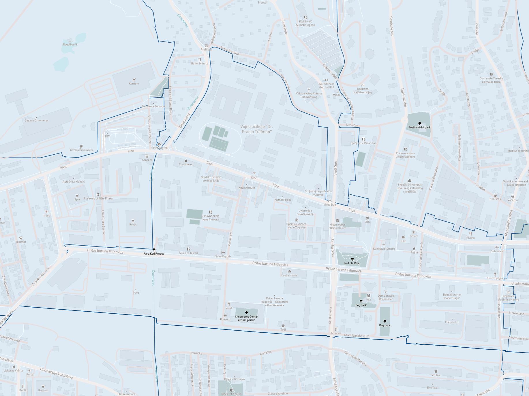 mapa MO Bartol Kašić